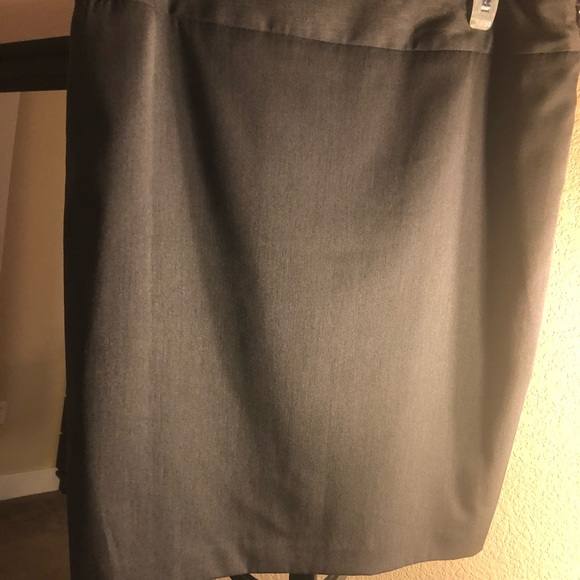 Anne Klein Dresses & Skirts - Dark Gray Anne Klein stretch skirt